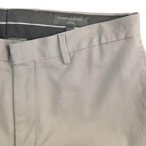 Banana Republic Aiden Fit Gray Dress Pants